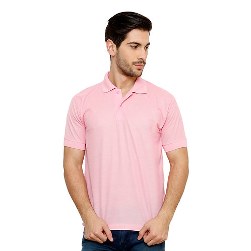 Half Sleeve Polycotton Polo Neck Tshirt For Men