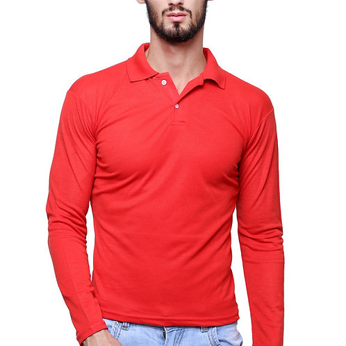 MGrandBear Full Sleeve Polo Tshirt For Men