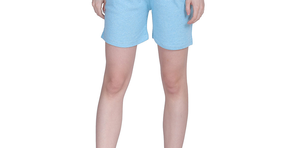 MGrandbear Women's Rib Cotton Stretchable Shorts/Yoga/Sports Shorts