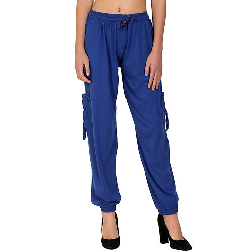 Plain Cotton Harem Pant For Women Waist Size 28 To 34 Inch