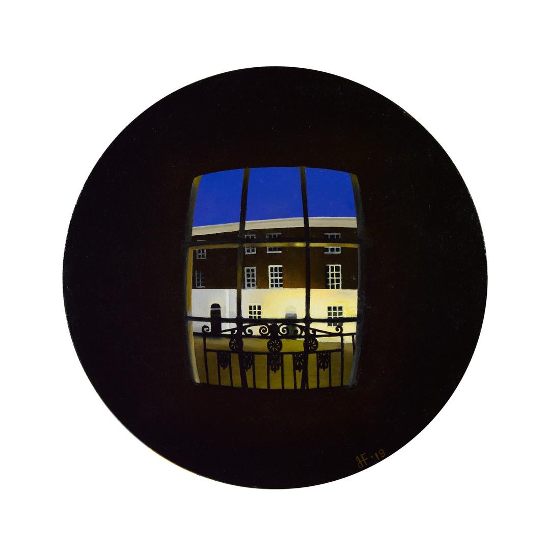 'Convex dark window'