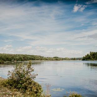 Une belle vue du Lac Aylmer