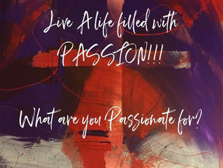 What are you passionate for?