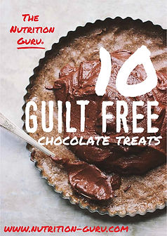 guilt free chocolate treats NG branded f