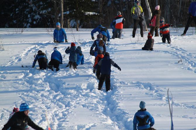 Youth Ski Practice