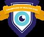 Plano Badge - Champions of Healthy Eyes.