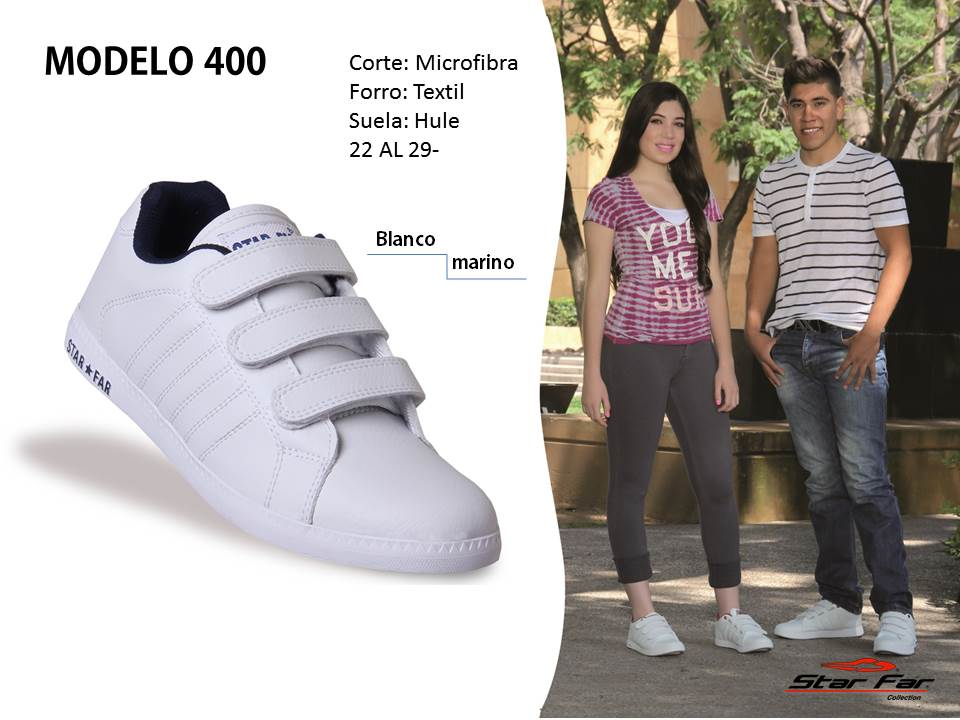 MODELO 400 JOVEN- CABALLERO