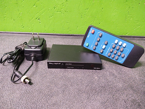 Key Digital KD-S2X1 2 in 1 Out HDMI Switcher with Remote