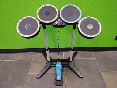 Harmonix Rock Band Wireless Drumset w/Pedal for Xbox 360 - Cedar City