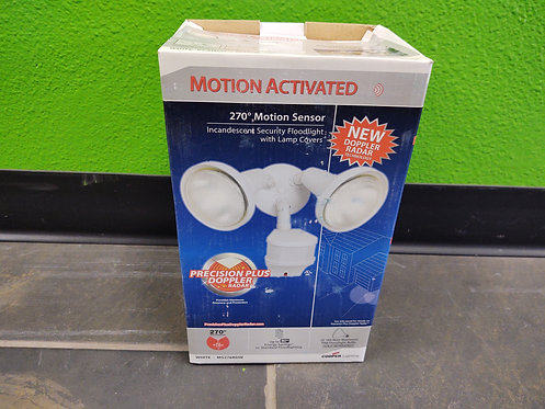 Cooper Lighting MS276RDW 270 Degree Motion Activated Incandescent Security Flood