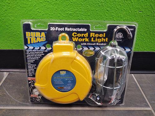 Dura Trac 920DT 20ft Retractable Cord Reel Work Light