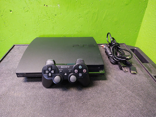 Sony Playstation 3 Slim 120gb w/Controller, Power and HDMI Cables - Cedar City