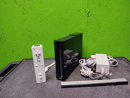 Nintendo Wii w/Remote, Sensor, Power, and A/V Cables - Cedar City