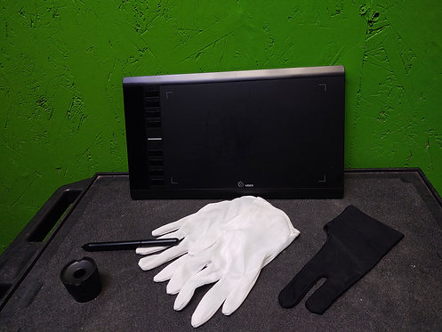 Ugee M708 10x6 Drawing Tablet w/Pen, Tips, and Gloves - Cedar City