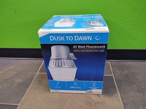 Cooper Lighting AL6501FL Dusk To Dawn 65W Fluorescent Safety and Security Area L
