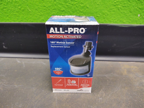 All-Pro 180 Degree Motion Activated Replacement Sensor - Black