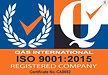 QAS ISO 9001:2105 Logo