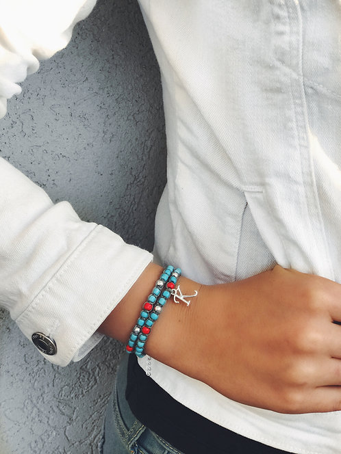 Colorful Letter Bracelet