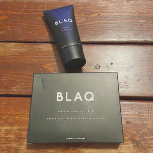 BLAQ skincare products I received in my FabFitFun Summer 2020 box