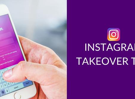 Instagram Takeover Tips