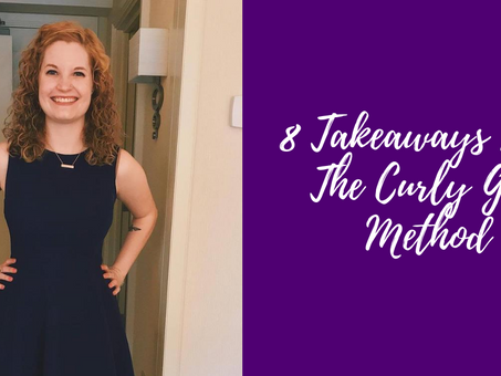 8 Takeaways From The Curly Girl Method