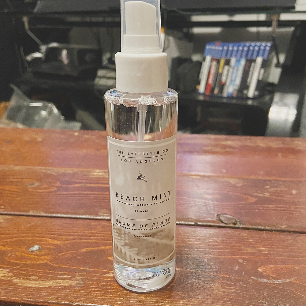 The Lyfestyle Co. Beach Mist Spray I received in my FabFitFun Summer 2020 box