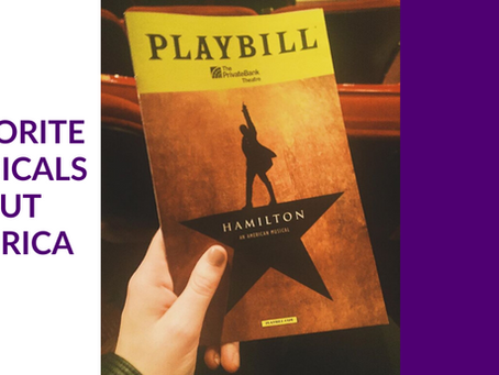 Favorite Musicals about America