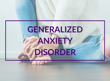 How I Live with Generalized Anxiety Disorder