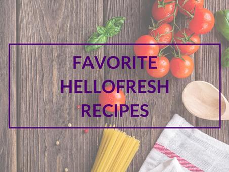 Favorite HelloFresh Recipes