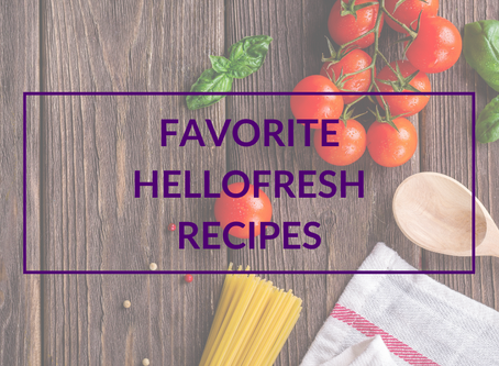 Favorite HelloFresh Recipes