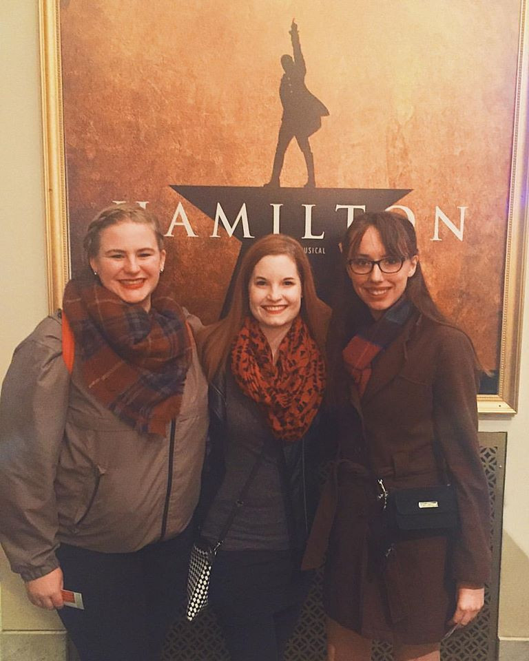 Our group that saw Hamilton in Chicago in 2017