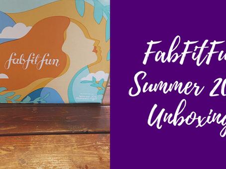 FabFitFun Summer 2020 Unboxing