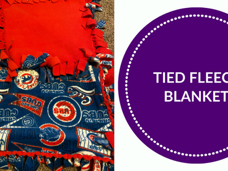 The Best Way to Make a Tied Fleece Blanket