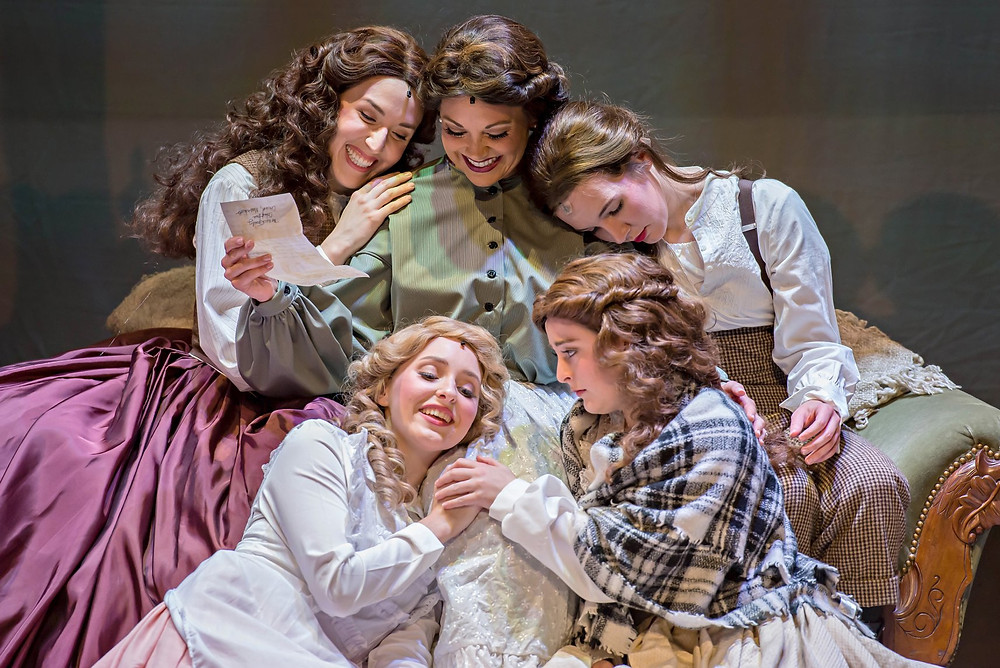 Little Women the Musical at TownSquare Players at the Woodstock Opera House