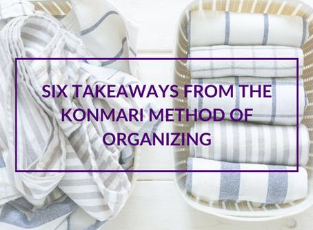 Six Takeaways from the KonMari Method