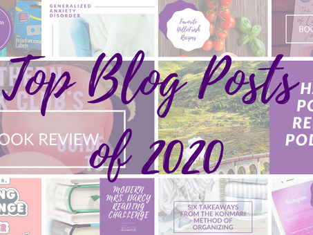 My Top 10 Blog Posts of 2020