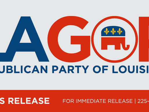 OFFICIAL: The LAGOP Urges Republicans to Vote EARLY for the RSCC Election and Run-offs