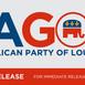 LAGOP Statement Regarding the Second Impeachment of President Trump