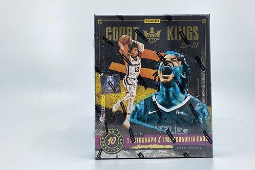 20-21 NBA Court Kings Hobby Box