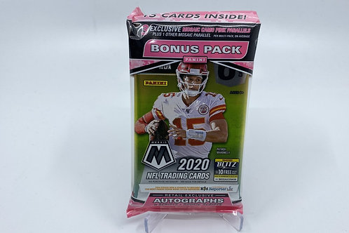 2020 NFL Mosaic Cello Pack