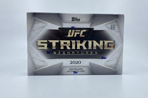 2020 Striking Signatures UFC Topps Encased Box