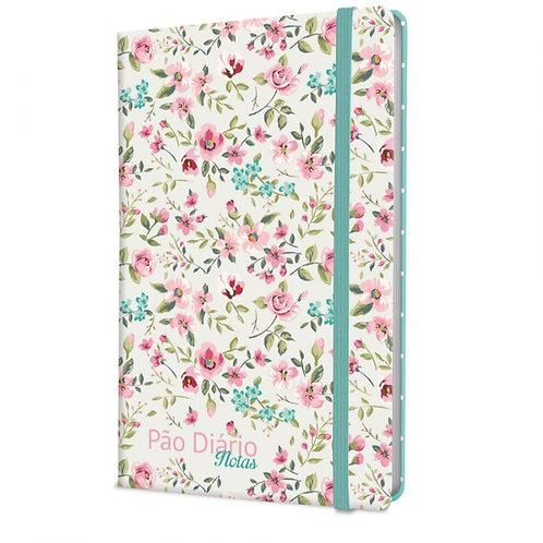 Caderno Pão Diário Notas – Floral Verde