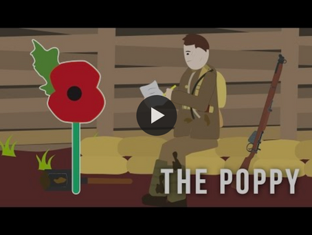 The story behind the Rememberance Poppy