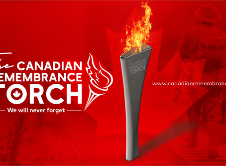 The Canadian Remembrance Torch
