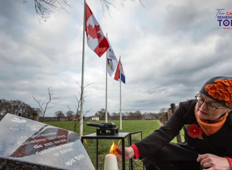 May 4 - The Canadian Remembrance Torch's May 2020 Virtual Tour