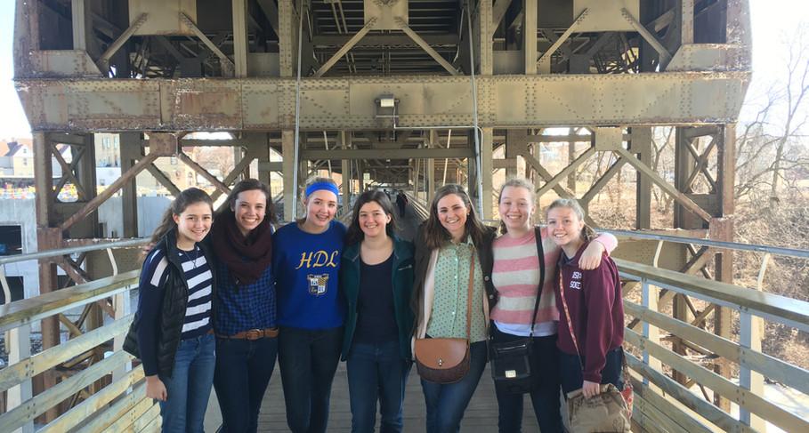 HS Girls Holton St. Marsupial bridge.jpg