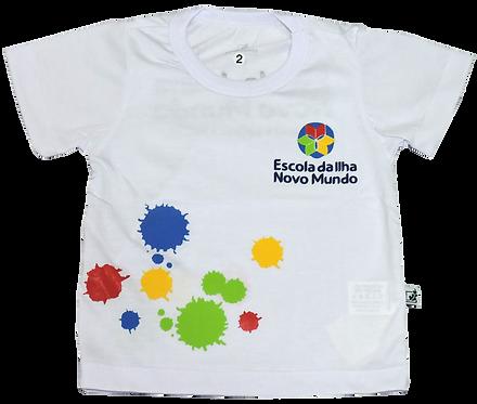 Camisa C/Manga Ed. Infantil Esc. Da Ilha
