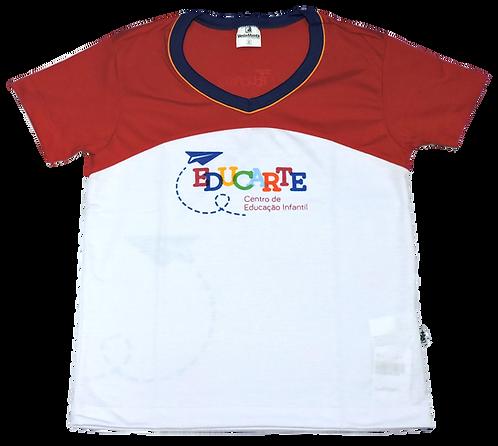 Camisa C/Manga Masculina Educarte