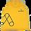 Thumbnail: Camisa S/Manga Amarela Alphabetz