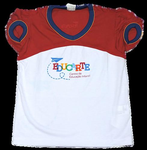 Camisa C/Manga Feminina Educarte